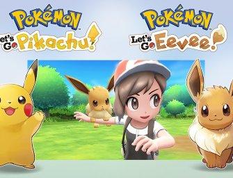 FINALMENTE! Nintendo anuncia Pokémon para o Switch
