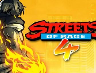 Streets of Rage 4 e como é bom dar socão no videogame