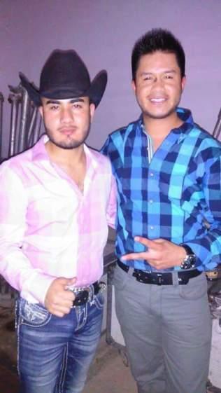 En San Lorenzo Río Grande Zacatecas Con Alfredo (Saxofonista) de Conjunto Lobo Universal.