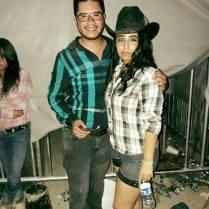 Con Alma Delia en Monterrey