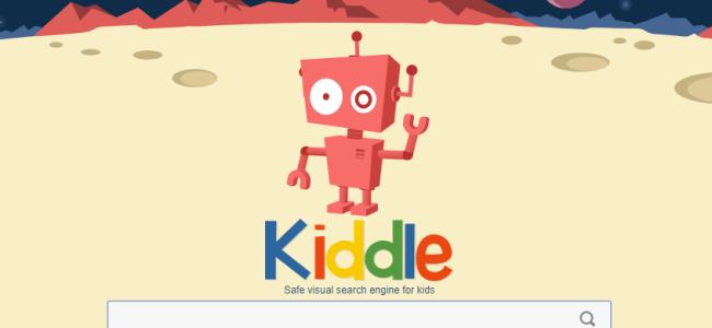 La portada de Kiddle Google para niños
