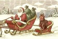 Historia de Krampus, el ladero de Santa Claus