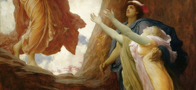 Frederic Leighton - The Return of Persephone (1891)