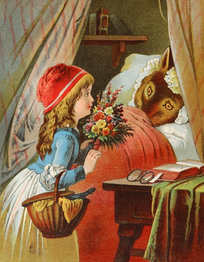 El origen de los cuentos infantiles - Caperucita Roja.