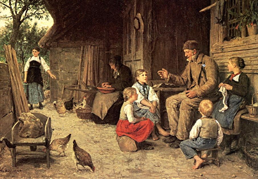 El origen de los cuentos infantiles