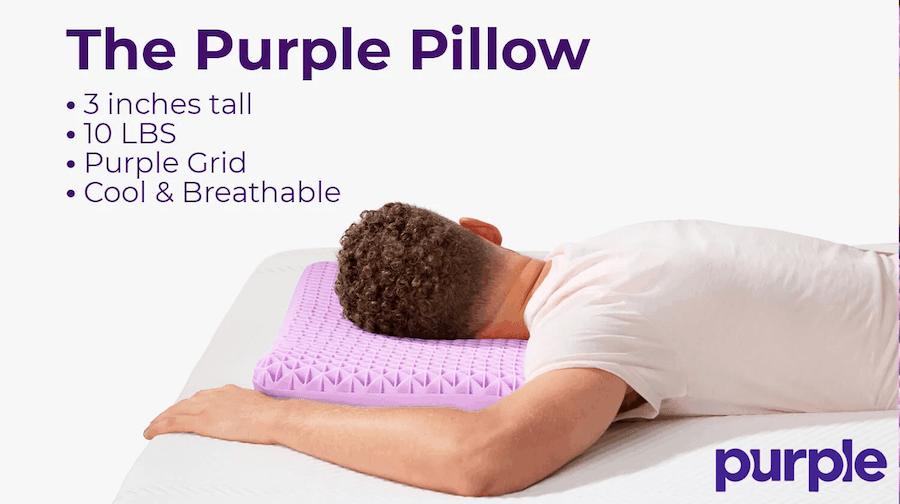 purple pillow vs purple harmony