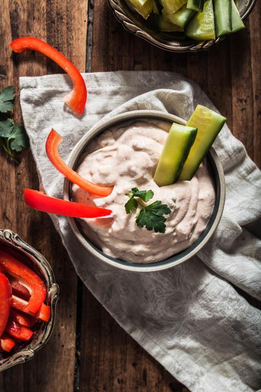 Homemade vegan sour cream