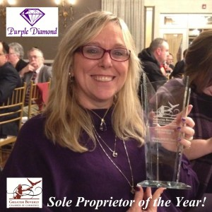 Purple Diamond Sole Proprietor of the Year Award