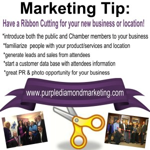 Marketing Tip Have a Ribbon Cutting
