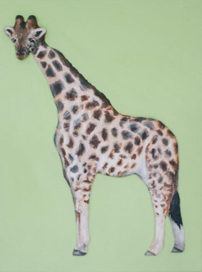 """""""Giraffe"""" 3D Acrylic Painting by Purple Faye.Have your own made specially for you to treasure forever by emailing info@purplefaye.co.uk"""