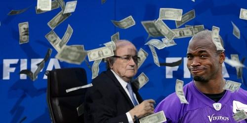 Adrian - Sepp Blatter