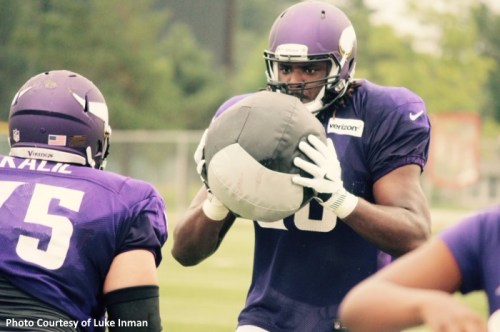 Mankato Minnesota Vikings Training Camp