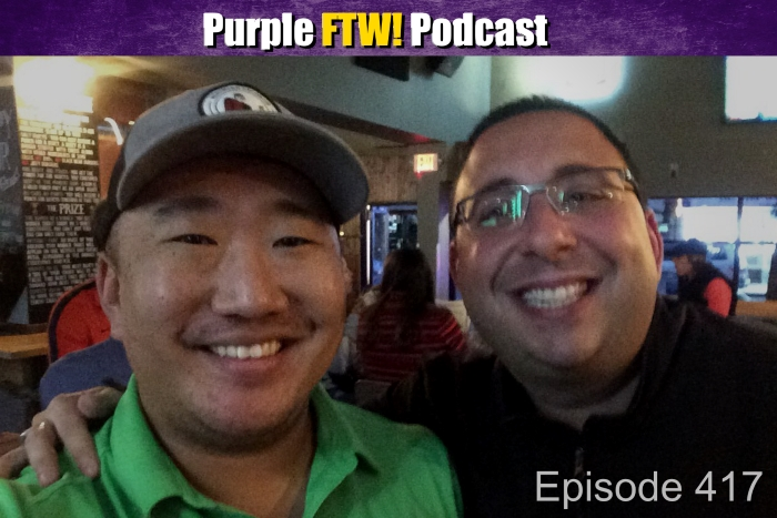 "Purple FTW! Podcast: Scooping Out Bradford's Knee with Darren ""Doogie"" Wolfson (ep. 417)"