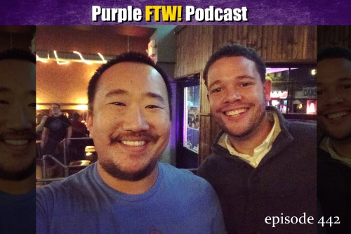 Purple FTW! Podcast: Oooooooo Vikewolves of London feat. Myles Gorham (ep. 442)