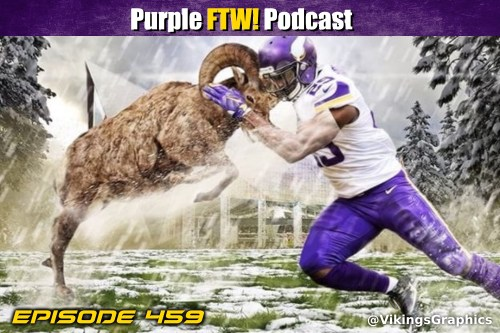 Purple FTW! Podcast: Vikings-Rams Preview feat. Cameron DaSilva + Offshore Insiders (ep. 459)