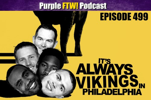Purple FTW! Podcast: That Philly Feeling feat. @JReidDraftScout & The Locked On Eagles Crew (ep. 499)