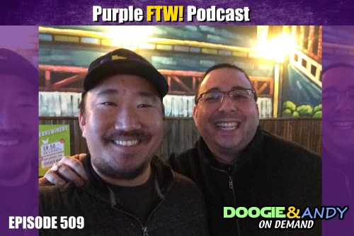 Purple FTW! Podcast: DeFilippo'ing Out with Darren Wolfson (ep. 509)