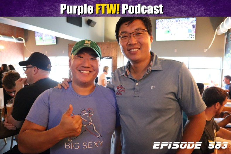 Purple FTW! Podcast: Vikings Training Camp Stories feat. Sean Jensen (ep. 583)