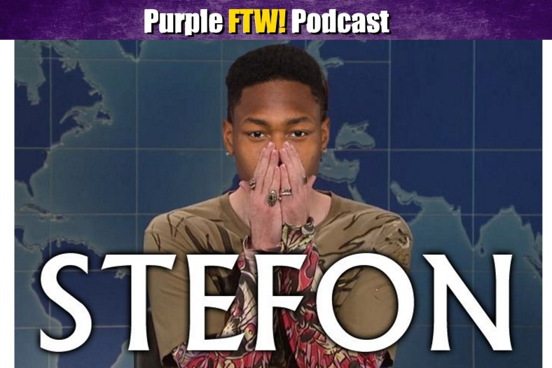 Purple FTW! Podcast: Diggs Gets The Bag + Wide Receiver Breakdown feat. Brad Kelly (ep. 589)