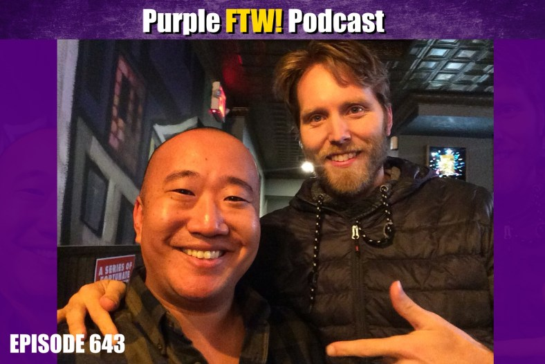 Purple FTW! Podcast: Vikings Aren't Jokes But We Got Jokes feat. Cy Amundson (ep. 643)