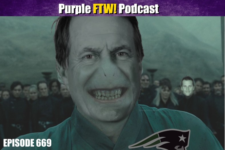 Purple FTW! Podcast: Playoff Machine Playing Plus Patriots Prattling feat. Mark Schofield (ep. 669)
