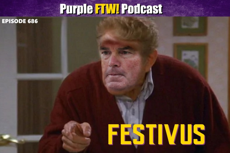 Purple FTW! Podcast: Vikings-Lions Recap - Festivus for the Rest of Us (ep. 686)