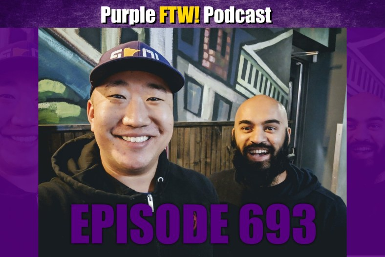 Purple FTW! Podcast: Vikings Offseason Needs. Who's the OC? Draft Chatter. feat. Arif Hasan (ep. 693)