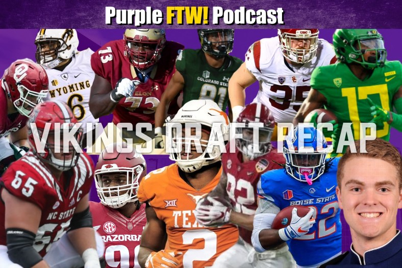 Purple FTW: Recapping the Minnesota Vikings 2019 Draft Class! (ep. 748)