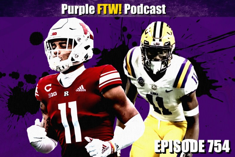 Purple FTW: Reviewing the NFC North's Drafts + Vikings Sign UDFA Tryouts! (ep. 754)