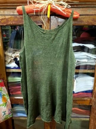Cara May Wabi Sabi Pine Knit Vest 3138