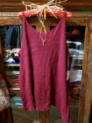 Cara May Wabi Sabi Ruby Knit Vest 2920