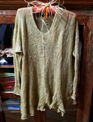 Cara May Wabi Sabi Pull Lemongrass Knit 4307