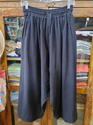 Veritecoeur Black Cordoruoy Pants 0616