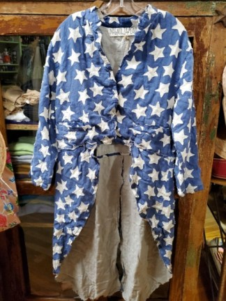 Magnolia Pearl Star Applique Emmett Tuxedo Coat America 372