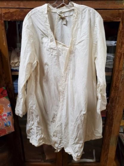 Magnolia Pearl Cotton Poplim Isobeth Shirt Top 809 - Natural