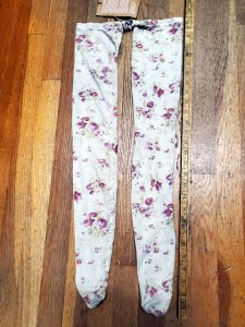 Cotton Jersey Karolina Raspberry Rose Socks 043