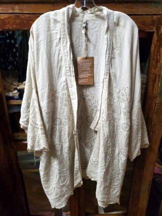 Magnolia Pearl Eyelet Cleo Short Kimono Jacket 330