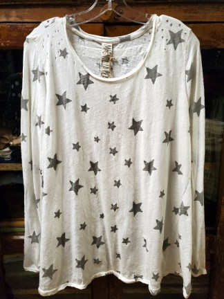 Magnolia Pearl Cotton Galaxy Dylan T Top 426 Rockstar