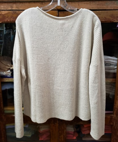 Ewa i Walla Cream Sweater Blouse 44727