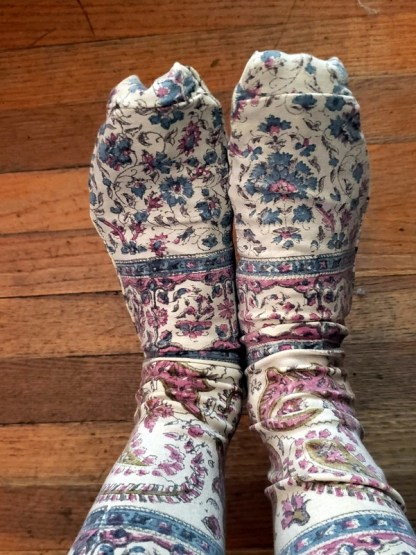 Magnolia Pearl Socks 044 in Tika