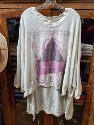 Magnolia Pearl Oversized Hi Lo Sufi Francis Pullover Moonlight 793