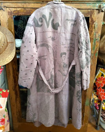 Magnolia Pearl Frida Collection Wells Painters Smock Coat Jacket 228