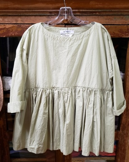 Veritecoeur Yellowgreen Blouse
