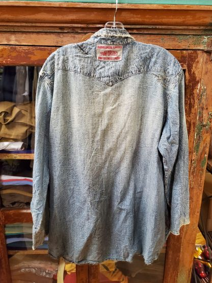 Magnolia Pearl Snap Shirt Top 541 - Washed Indigo