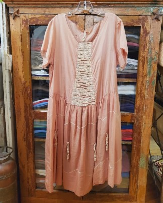 Magnolia Pearl Cotton Silk Loren Dress 377 in Anemone