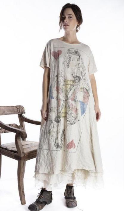 Magnolia Pearl Queen of Hearts T Dress 703 -- Moonlight