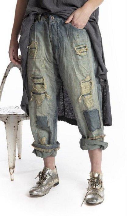 Magnolia Pearl Miner Denim Pants 213 -- Washed Indigo