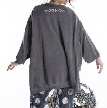Magnolia Pearl oversized Hi Lo Disco Ora Francis Pullover Top 942 -- Ozzy