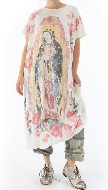 Magnolia Pearl Amor Applique T Dress 717 -- Moonlight