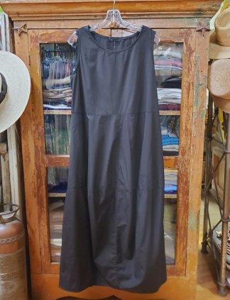 cut-loose Seamed Bubble Dress 2516 Black